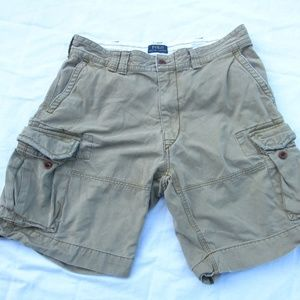VTG Polo Ralph Lauren Chino Cargo Shorts Heavy